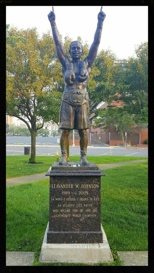 Leavander Johnson Statue