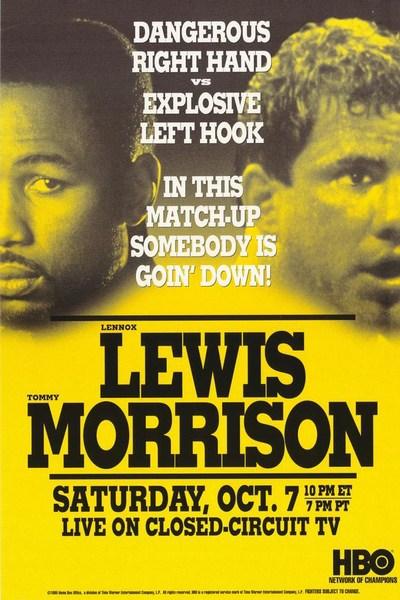 Lewis Morrison Poster