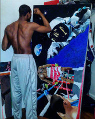 "John ""Apollo Kidd"" Thompson Painting"